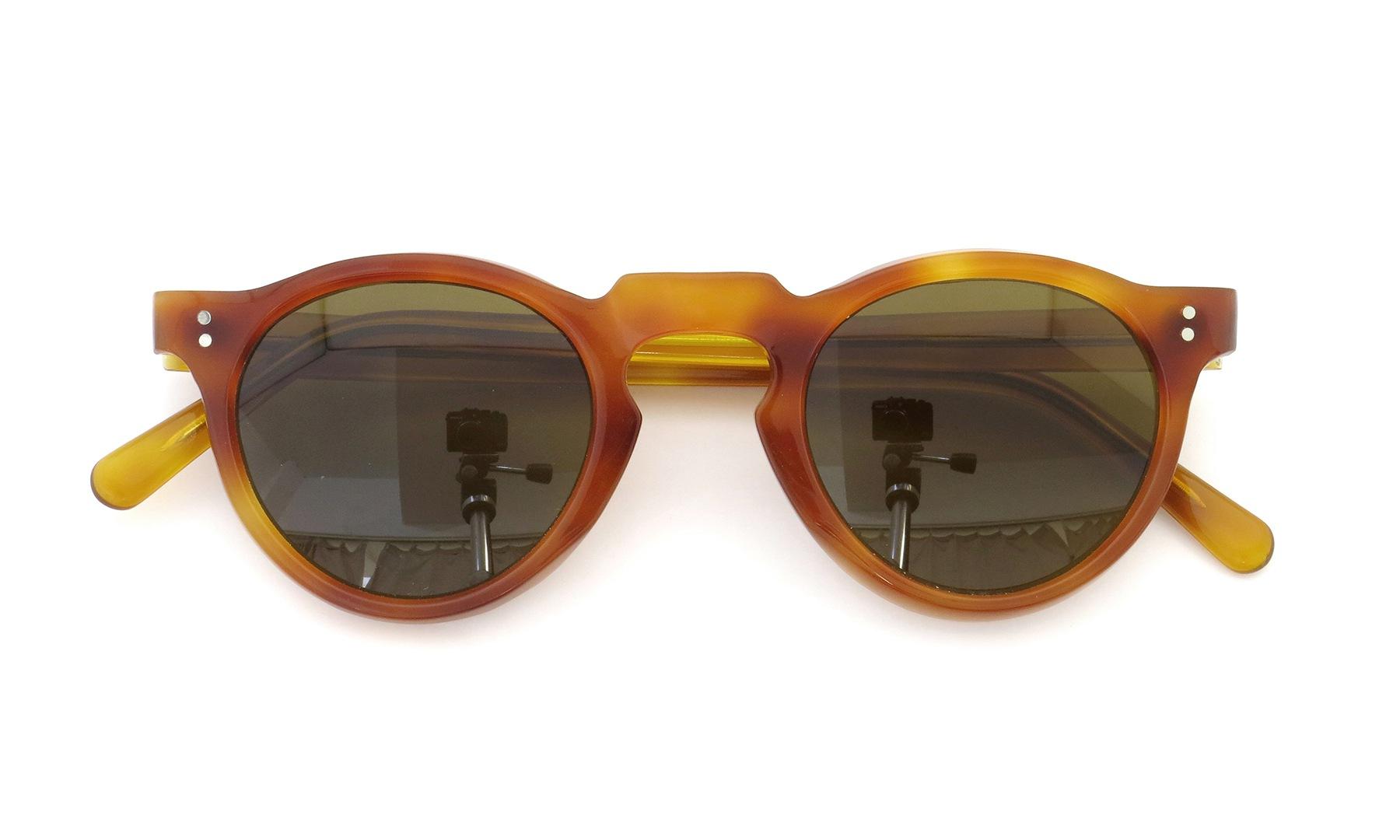 Lesca Vintage Panto Light-Demi 6mm (v2) Brown-lense 4
