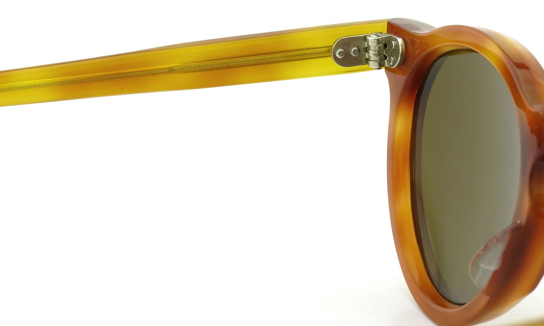 Lesca Vintage Panto Light-Demi 6mm (v2) Brown-lense 9