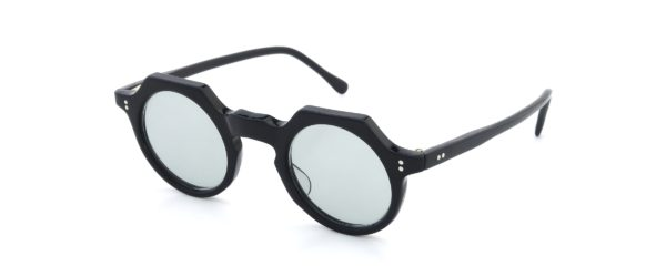 Lesca レスカ Vintage TONDO-ECK Black Light-Grey-lens