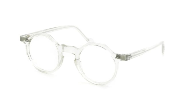 Lesca Vintage Crown-Panto type-D 4mm Crystal