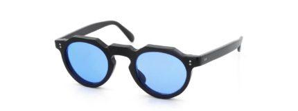 Lesca レスカ VINTAGE Crown-Panto Black 6mm (v34) Sapphire-Blue-Lens