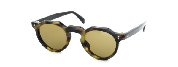 Lesca レスカ Vintage Crown-Panto Classic-Tortoise 6mm (v2) Brown-Lens