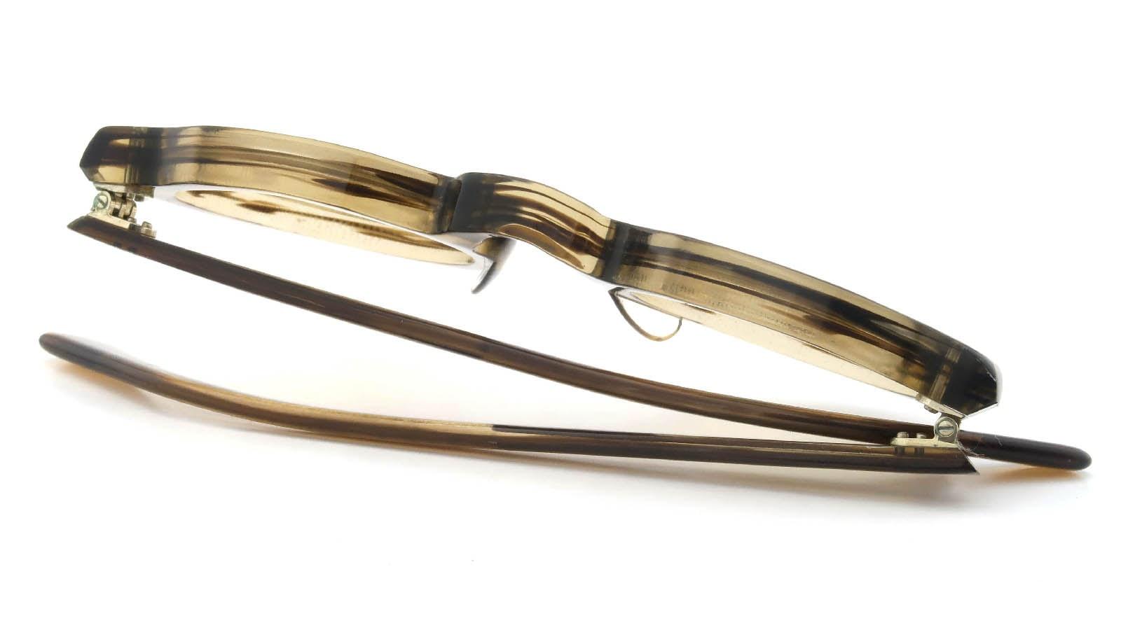 Lesca VINTAGE Crown-Panto Brown-Olive 8mm (v4) 12