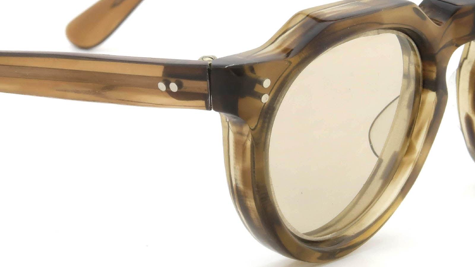 Lesca VINTAGE Crown-Panto Brown-Olive 8mm (v4) 5