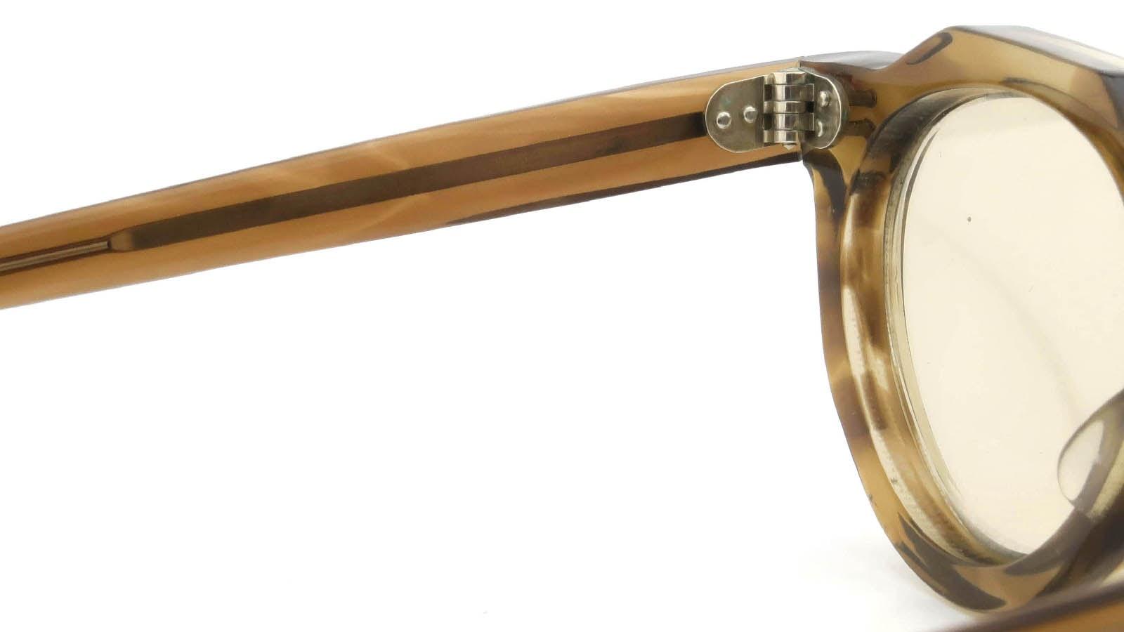 Lesca VINTAGE Crown-Panto Brown-Olive 8mm (v4) 9