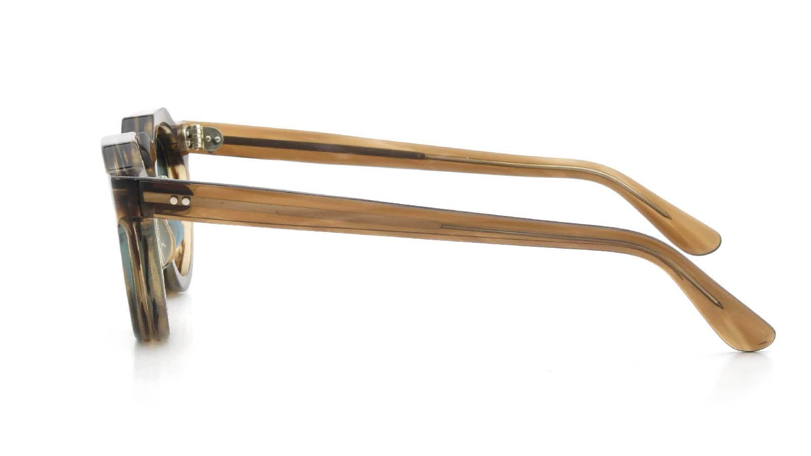 Lesca VINTAGE Crown-Panto Brown-Olive 8mm (v5) 3