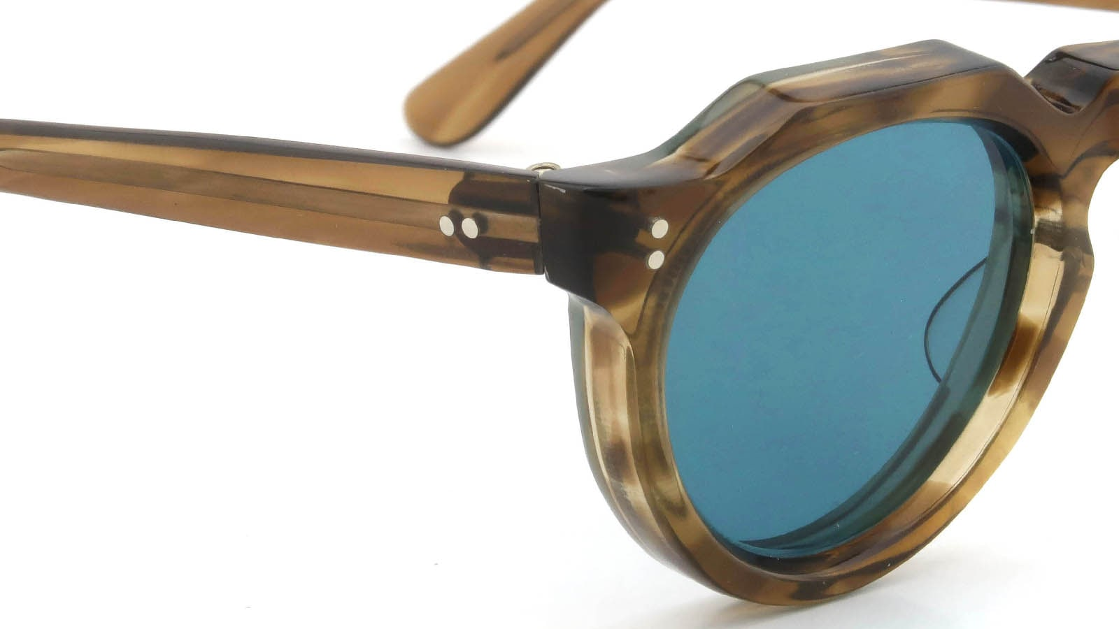 Lesca VINTAGE Crown-Panto Brown-Olive 8mm (v5) 5