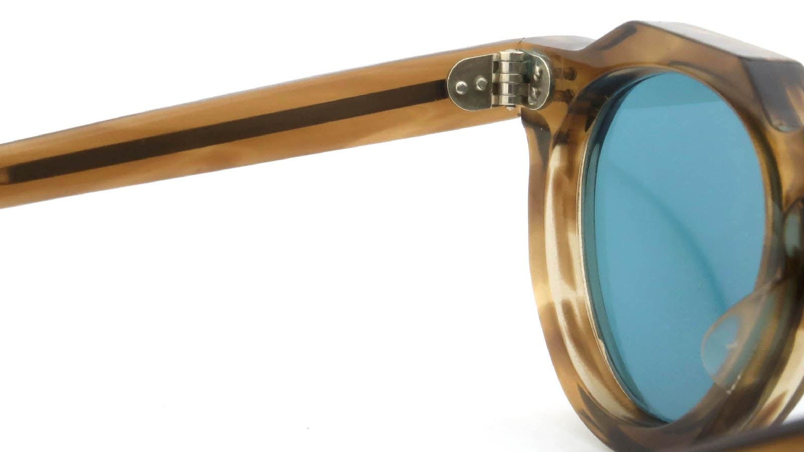 Lesca VINTAGE Crown-Panto Brown-Olive 8mm (v5) 9