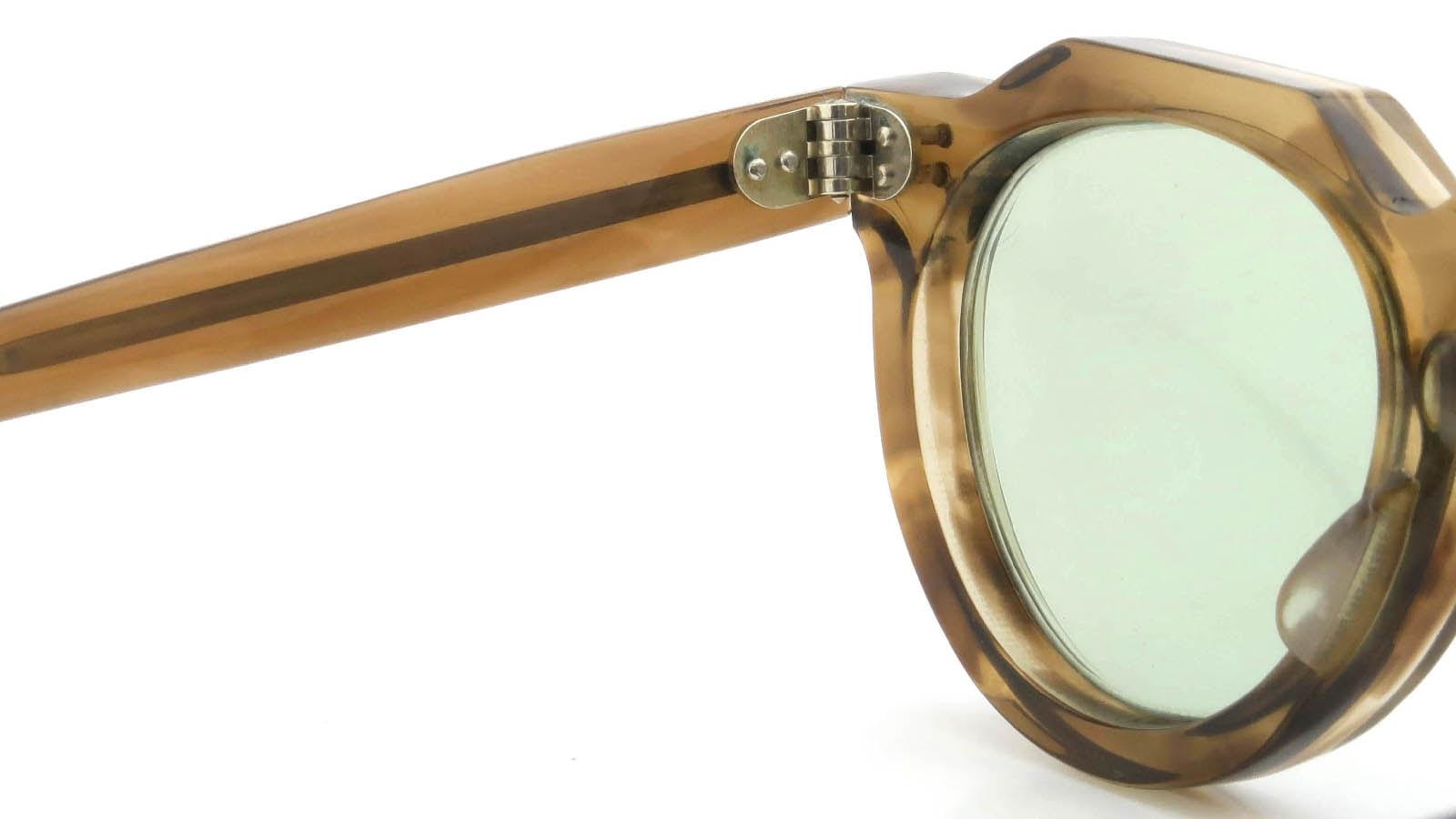 Lesca VINTAGE Crown-Panto Brown-Olive 8mm (v6) 9