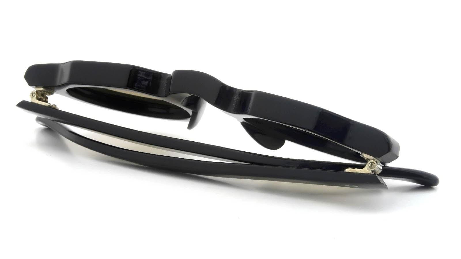 Lesca VINTAGE Crown-Panto Black 8mm (v43) 12
