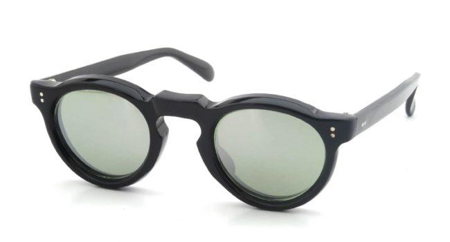 Lesca Vintage Panto Black 8mm v9