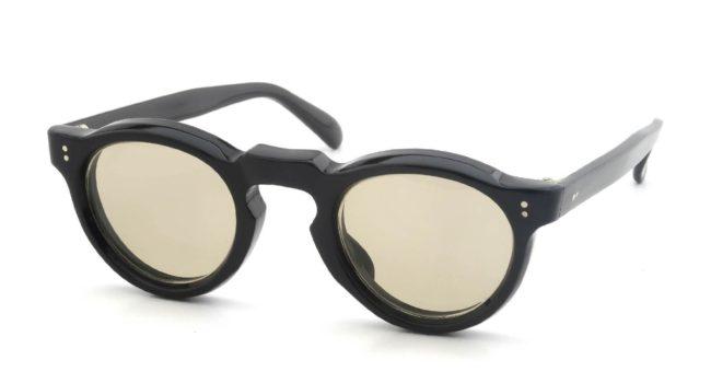Lesca Vintage Panto Black 8mm v12