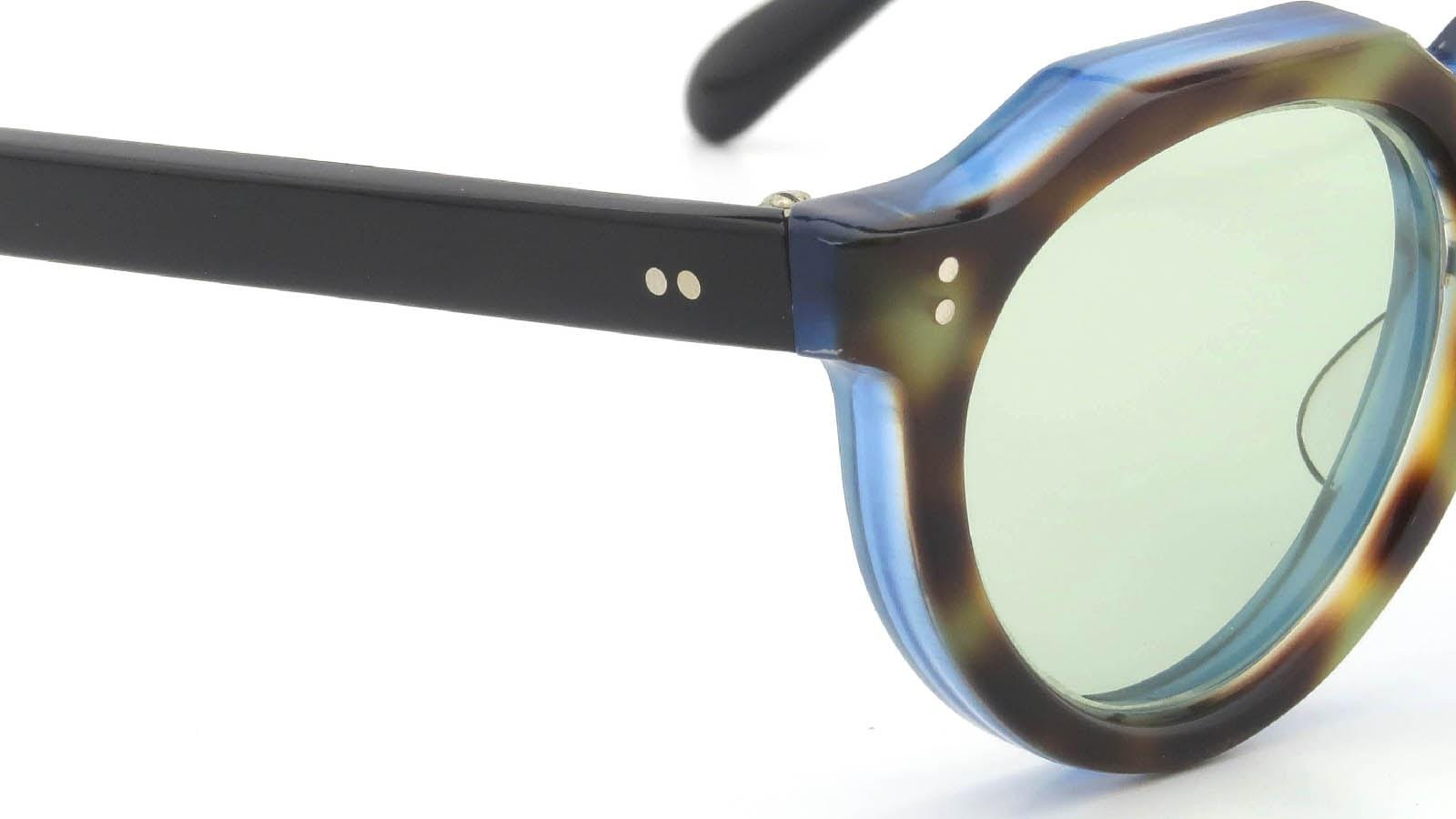 Lesca VINTAGE Crown-Panto Leopard-Crystal-Blue-Sand 8mm (v1) 5