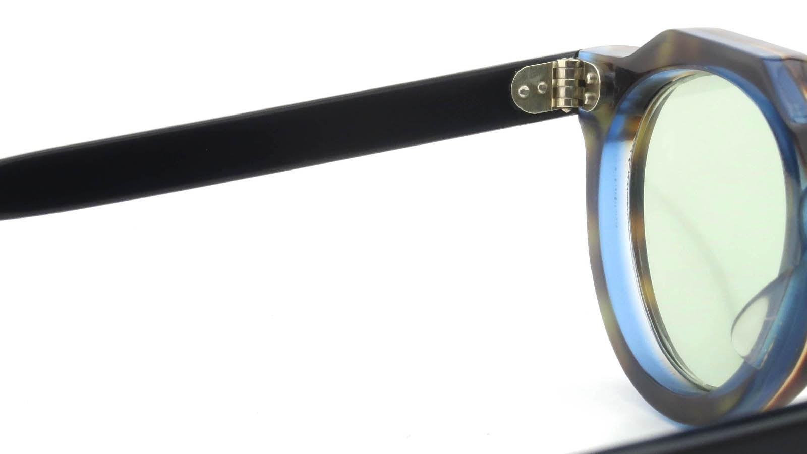 Lesca VINTAGE Crown-Panto Leopard-Crystal-Blue-Sand 8mm (v1) 9
