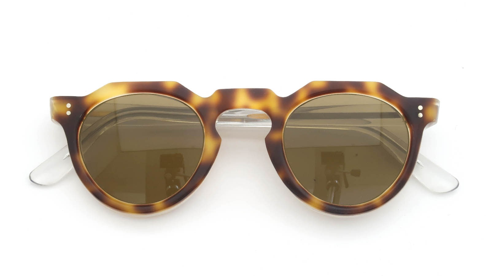 Lesca VINTAGE Crown-Panto Leopard/Clear 8mm (v3) 4