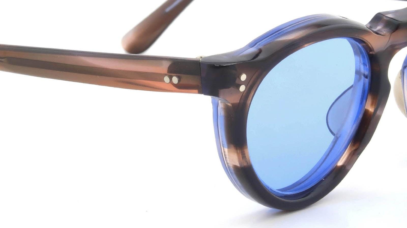 Lesca VINTAGE Panto Ash-Sasa/Blue-Sasa 8mm (v3) 5