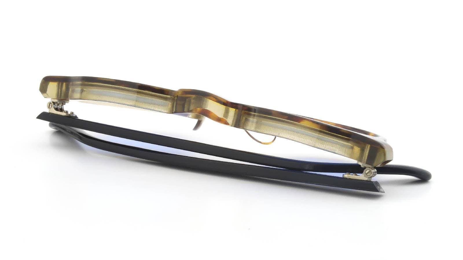 Lesca VINGTAGE Crown-Panto Ambre/Clear 8mm (v6) 12