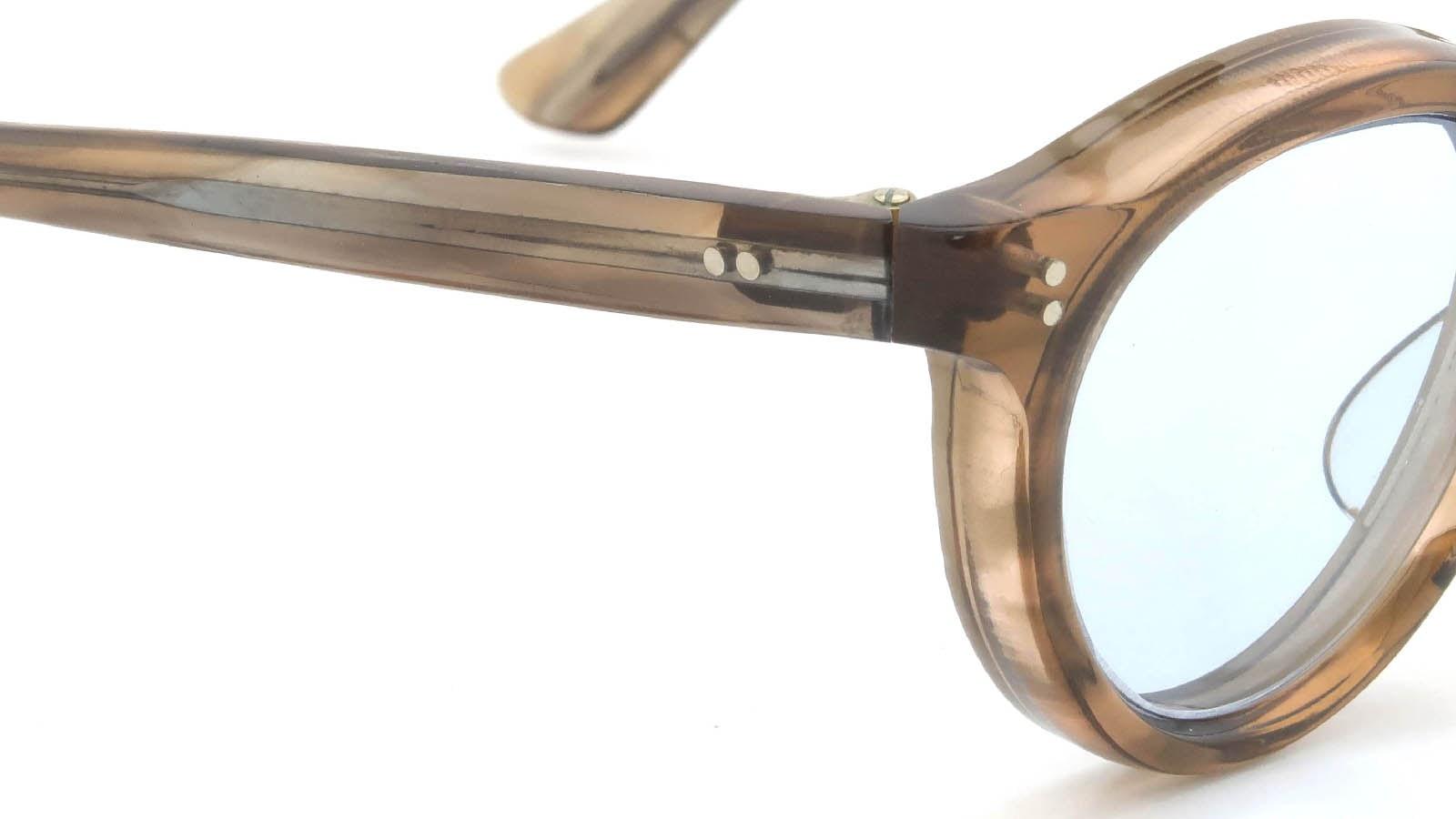 Lesca VINTAGE Panto Ash-Brown 8mm (v2) 5