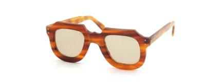 Lesca レスカ VINGTAGE Gargoyle Butter-Light-Cedar (v1) Light-Brown-Lens