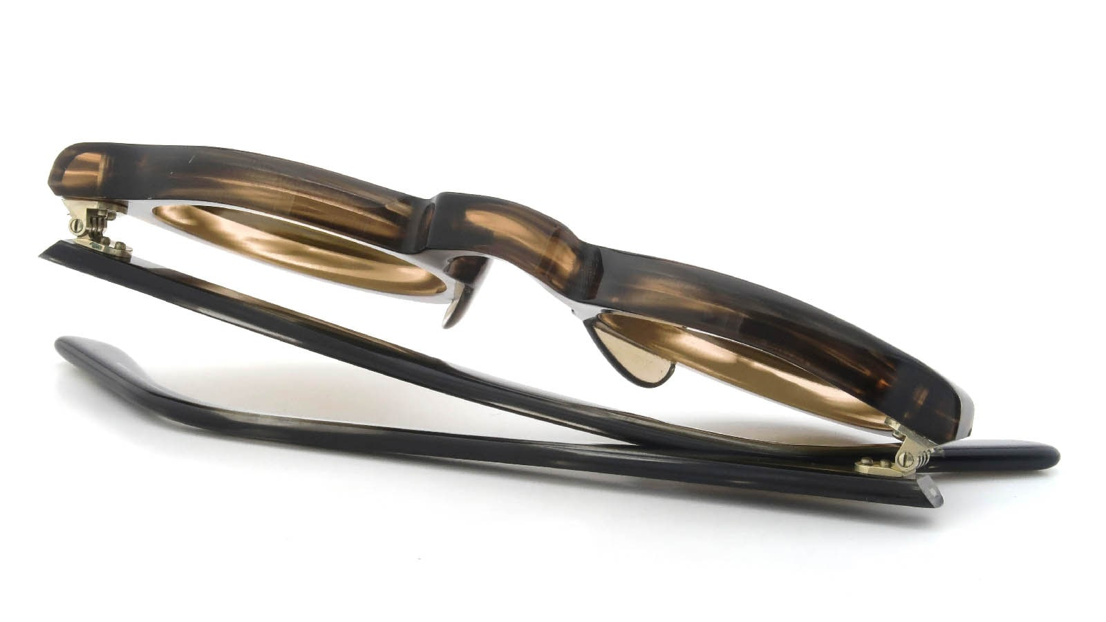 Lesca VINTAGE Panto Ash-Brown-sasa 8mm (v5) 12