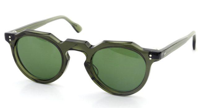 Lesca レスカ Vintage Crown-Panto type-A Green 6mm (v1) Green-Lense