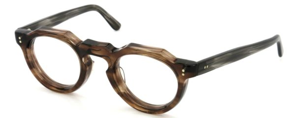 Lesca レスカ Vintage fv-0552 8mm Brown-sasa/Grey-sasa