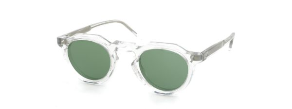 Lesca レスカ VINGTAGE Crown-Panto Clear 8mm (v6) Green-Lens