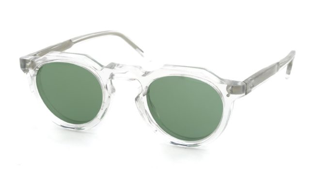 Lesca VINGTAGE Crown-Panto Clear 8mm (v6) Green-Lens