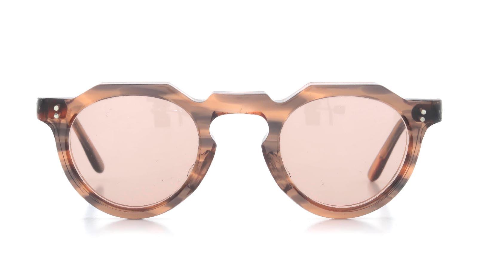 Lesca VINTAGE Crown-Panto Pink-Grey-Sasa 8mm (v4) 2