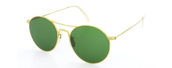 Lesca レスカ サングラス Vintage fv-0565 (v1) Gold | Green lense
