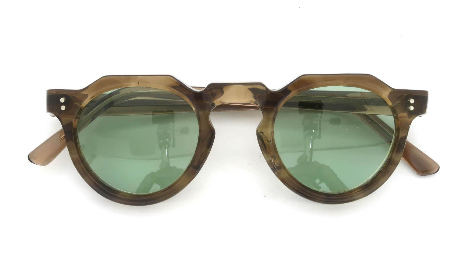 Lesca  Vintage Crown-Panto Brown-Olive 8mm (v1) 4