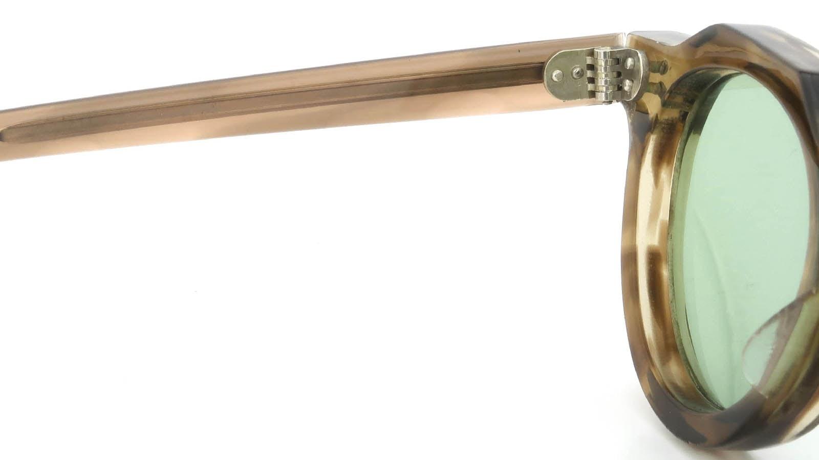 Lesca  Vintage Crown-Panto Brown-Olive 8mm (v1) 9