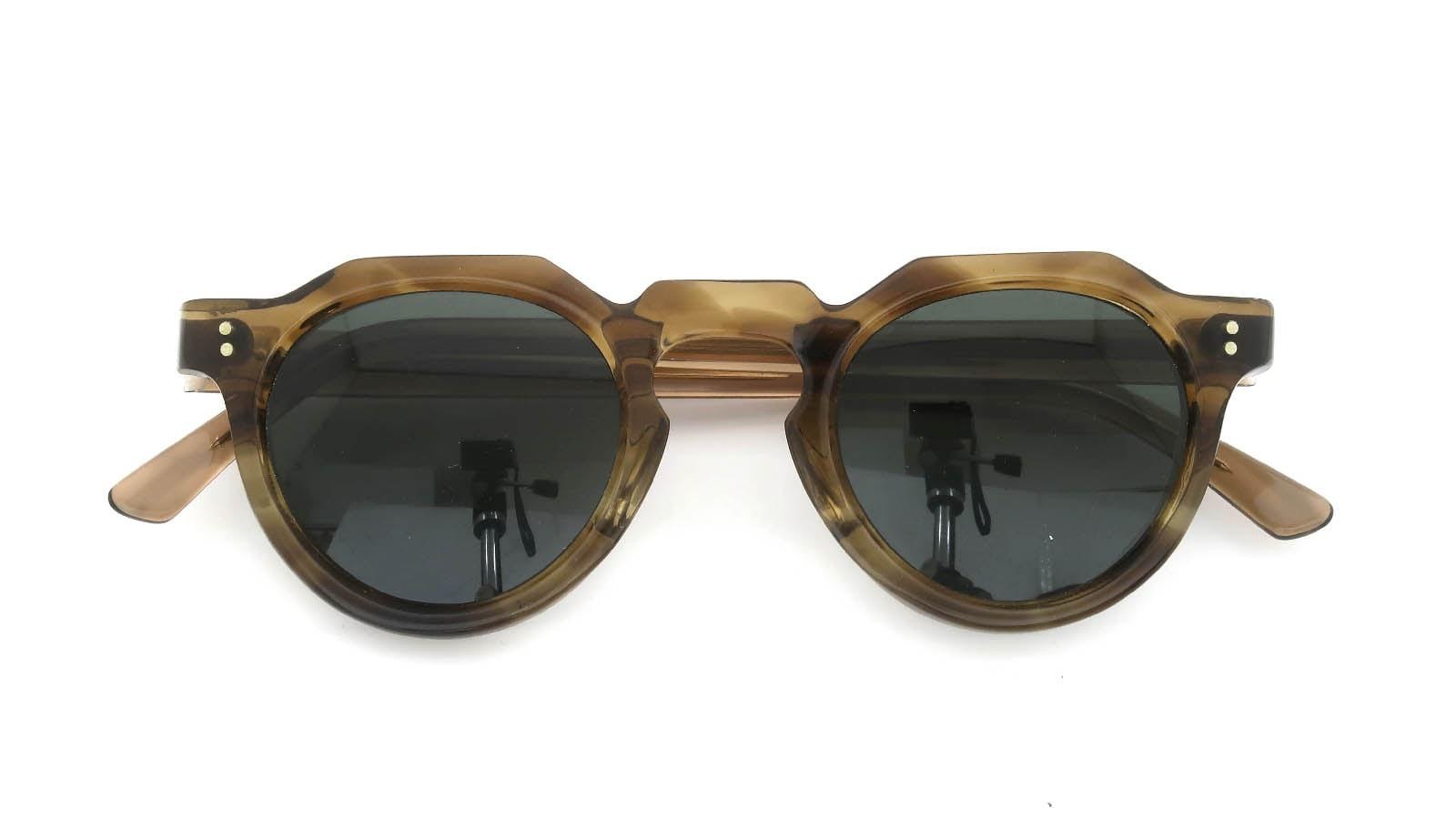 Lesca  Vintage Crown-Panto Brown-Olive 8mm (v3) 4