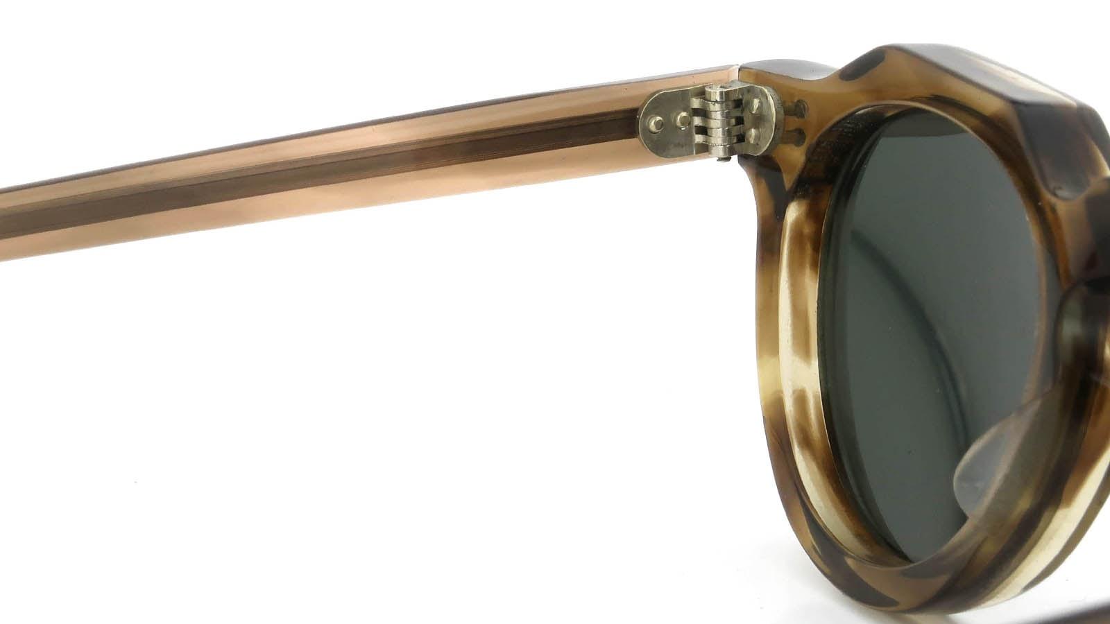 Lesca  Vintage Crown-Panto Brown-Olive 8mm (v3) 9