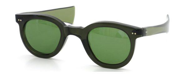 Lesca レスカ Vintage P-43 Plectrum-temple Green (v1) Green-lense
