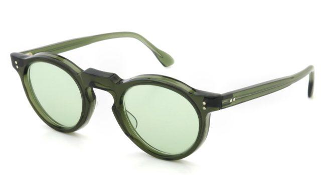 Lesca Vintage Panto type-A Green 6mm (v1) Light-Green-lense