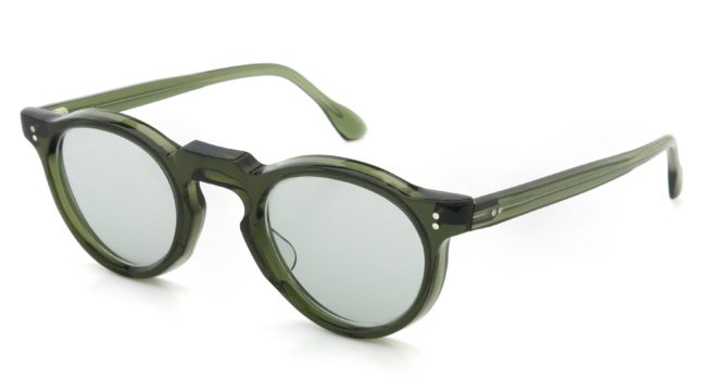 Lesca Vintage Panto type-A Green 6mm (v2) Light-Grey-lense