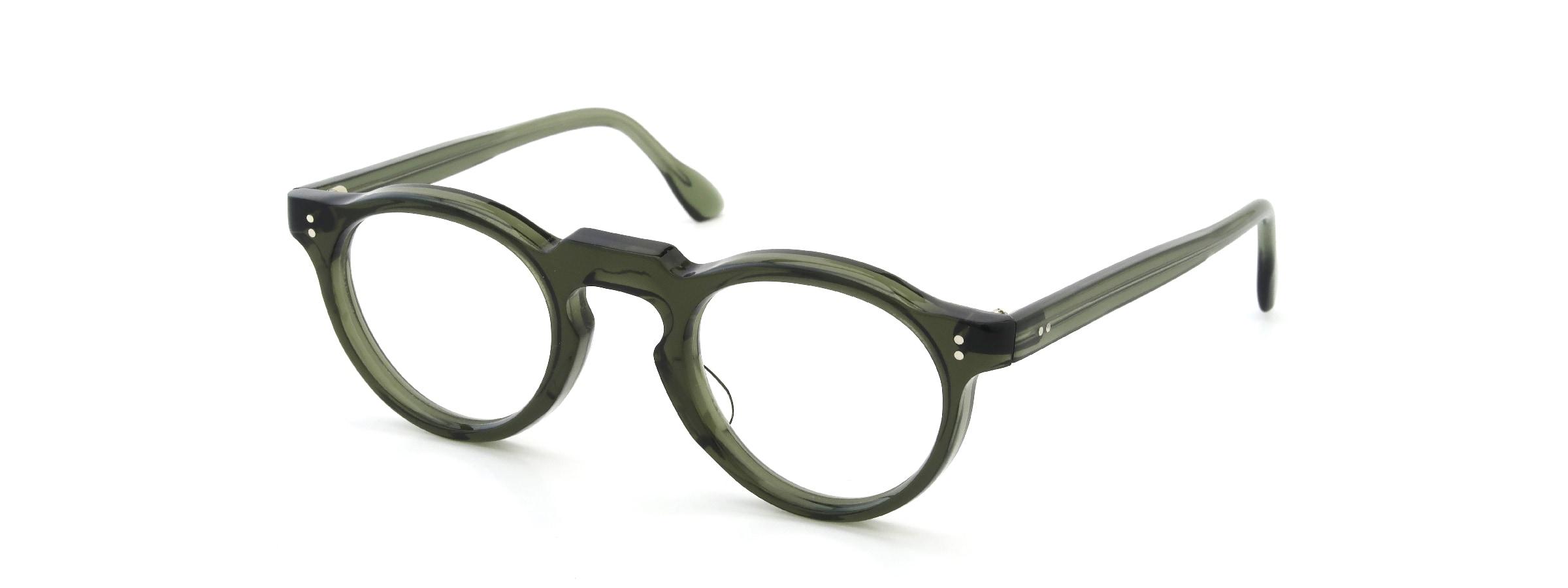 Lesca  Vintage Panto type-A Green 6mm (v4)