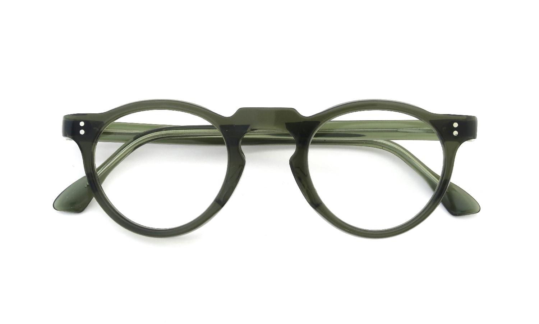 Lesca  Vintage Panto type-A Green 6mm (v4) 4