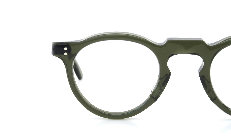 Lesca  Vintage Panto type-A Green 6mm (v4) 8