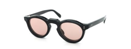 Lesca Vintage Panto Black 8mm (v6) Light-Pink-Lens