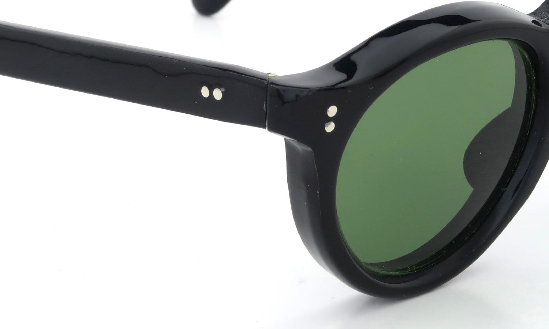 Lesca Vintage Panto Black 8mm (v8) 5