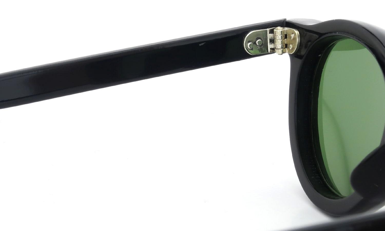 Lesca Vintage Panto Black 8mm (v8) 9