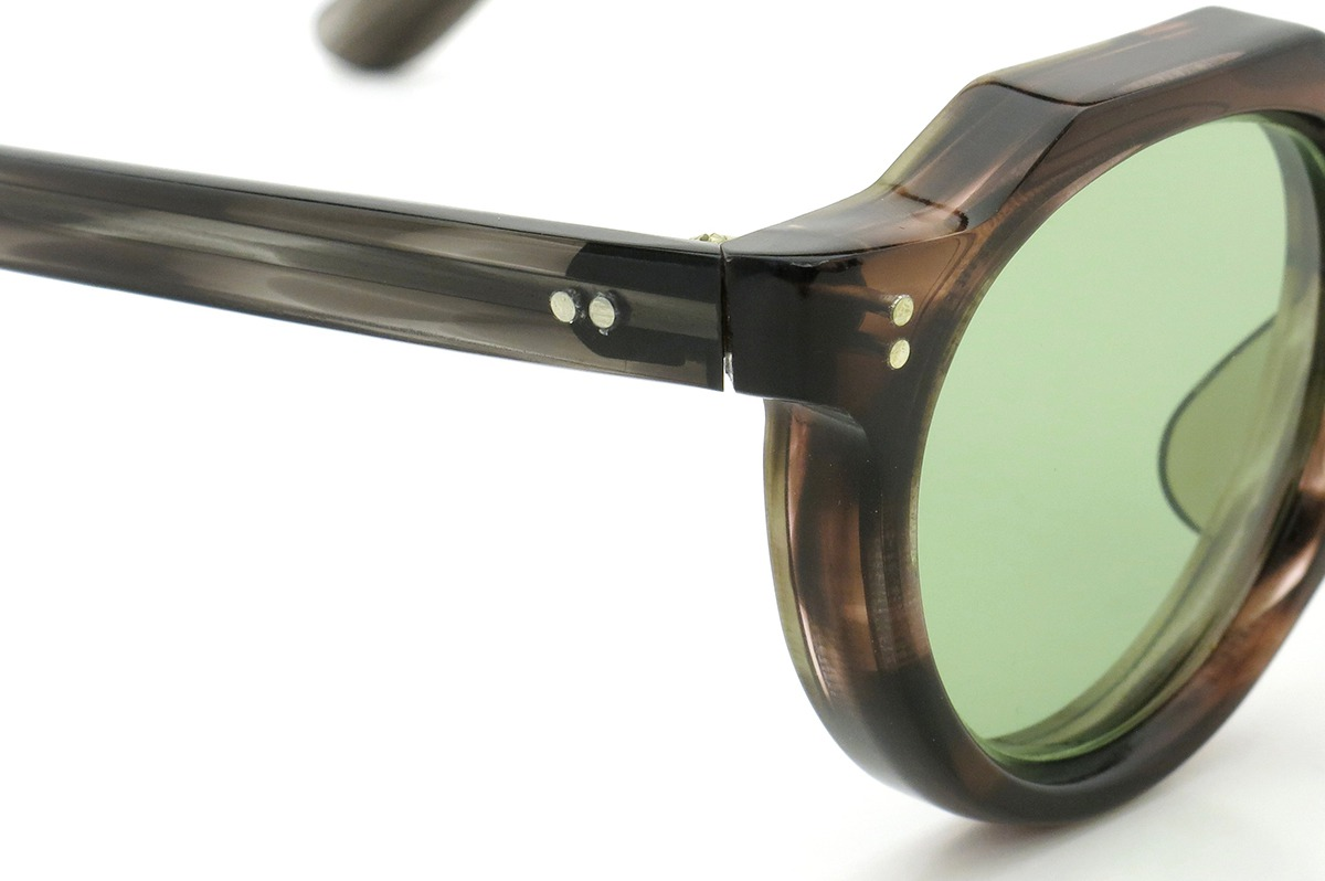 Lesca Vintage Crown-Panto type-A Brown-sasa/Grey-sasa 8mm (v3) 5