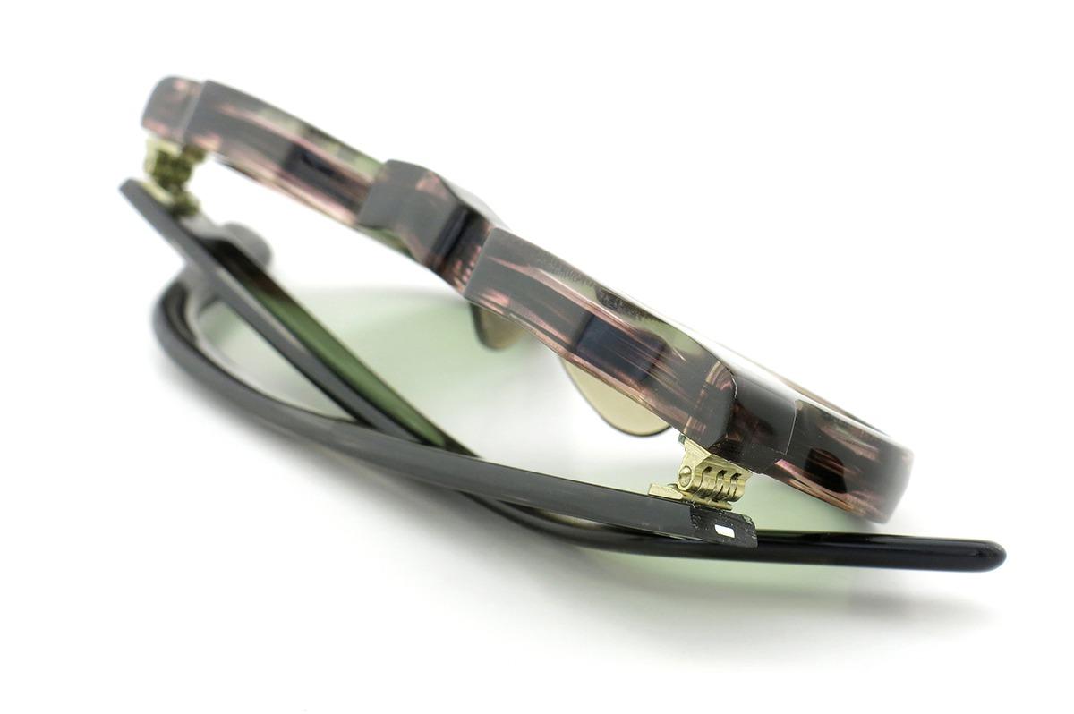 Lesca Vintage Crown-Panto type-A Brown-sasa/Grey-sasa 8mm (v3) 14