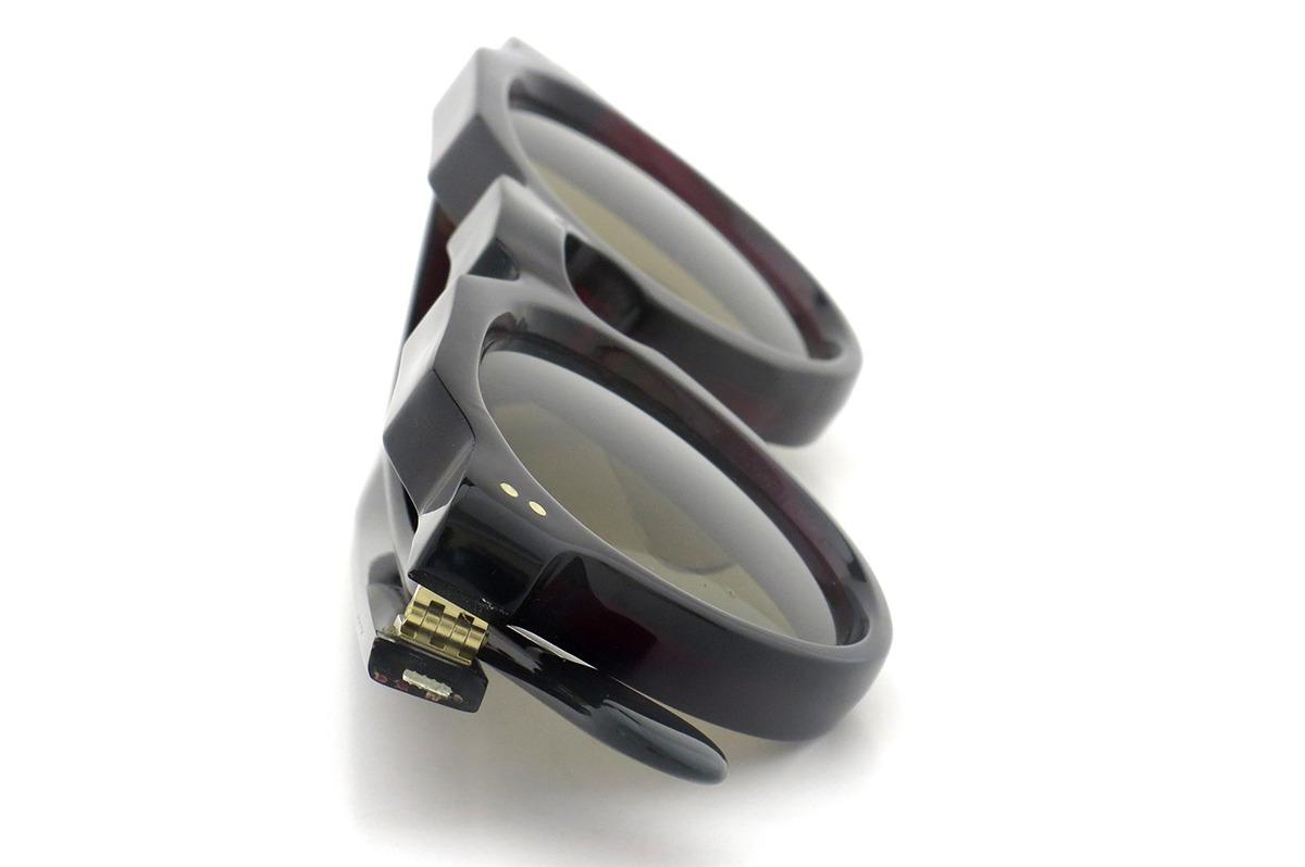 Lesca vintage Crown-Panto type-A Deep-Bordeaux 8mm (v1) 12