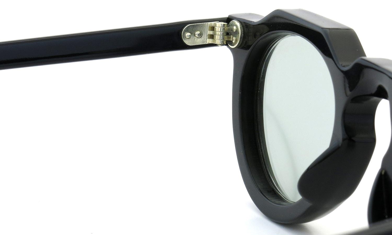 Lesca Vintage Crown-Panto 8mm Black (v16) Light-Grey-lens 9