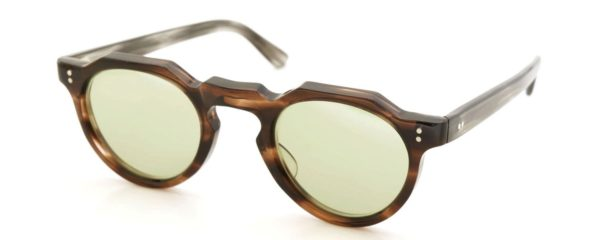 Lesca レスカ Vintage fv-0552 6mm (v1) Brown-sasa/Grey-sasa