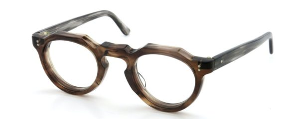 Lesca レスカ Vintage fv-0552 (v3) 8mm Brown-sasa/Grey-sasa