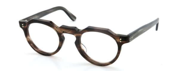 Lesca レスカ Vintage fv-0553 (v11) 6mm Ash-brown-sasa/Grey-sasa